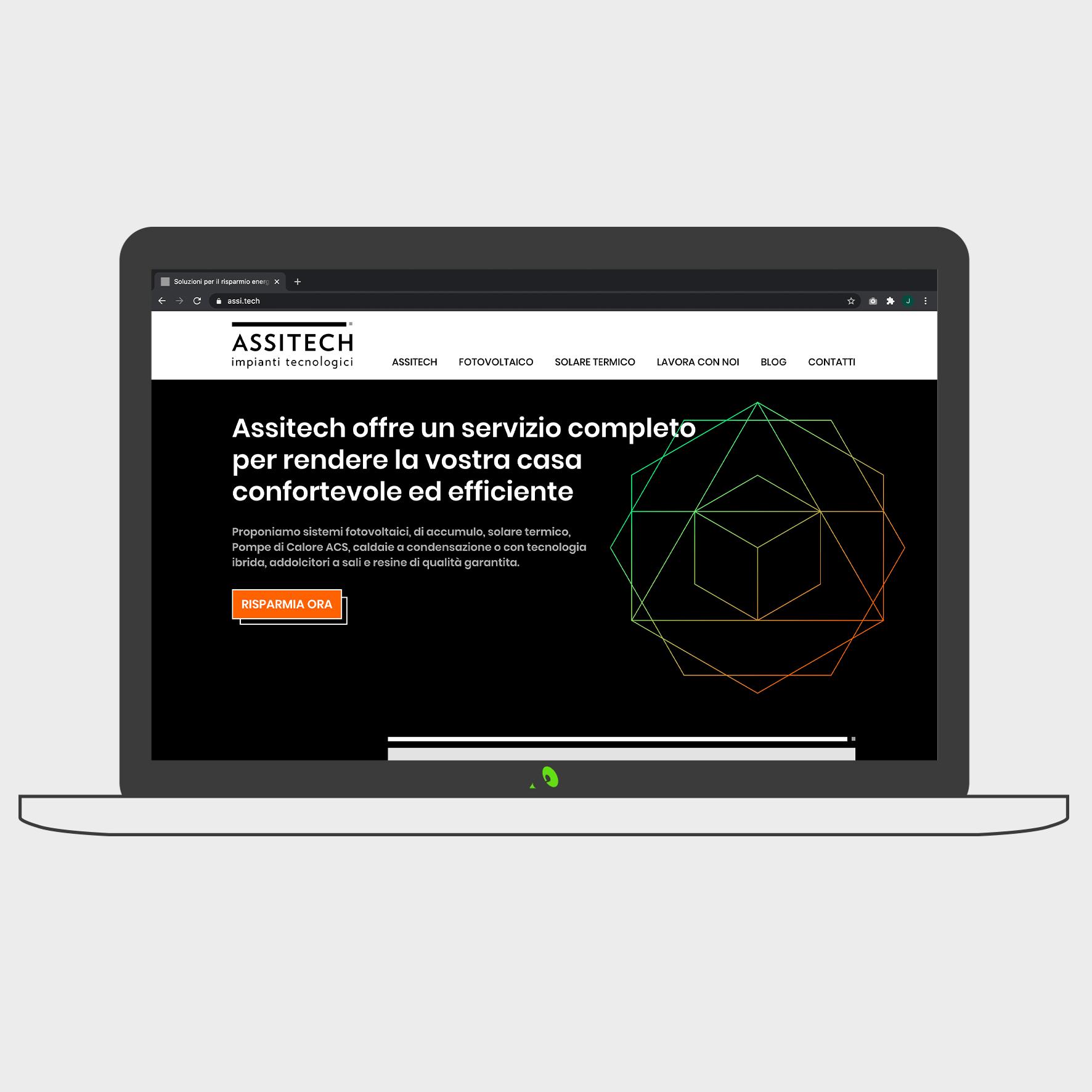 sito web home page
