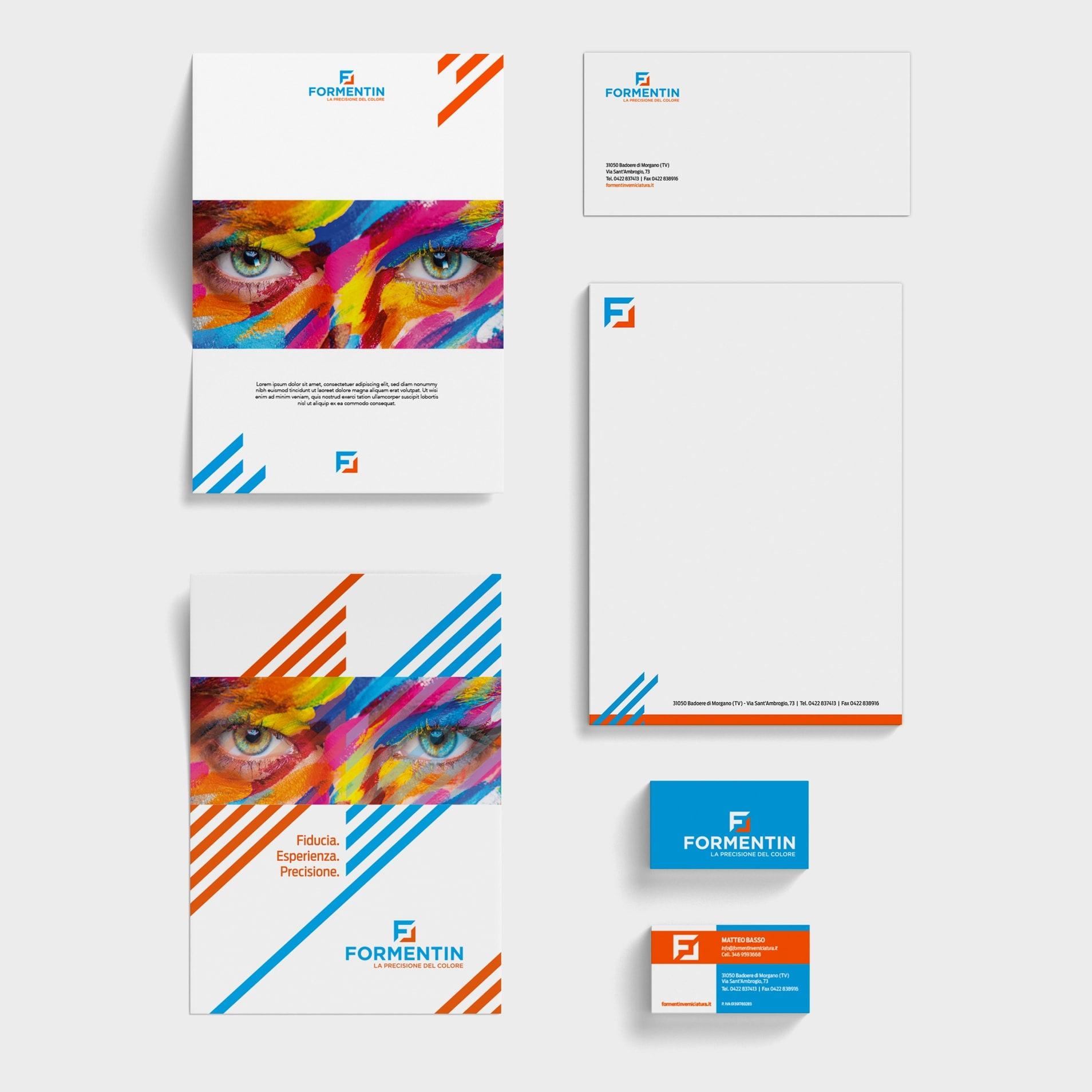 branding realizzato per cliente
